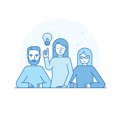 Clever stock illustrations