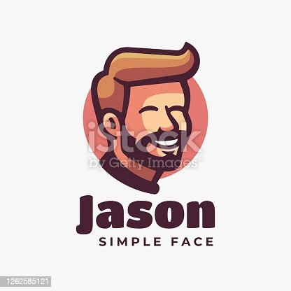 istock Vector Illustration Jason Simple Mascot Style. 1262585121