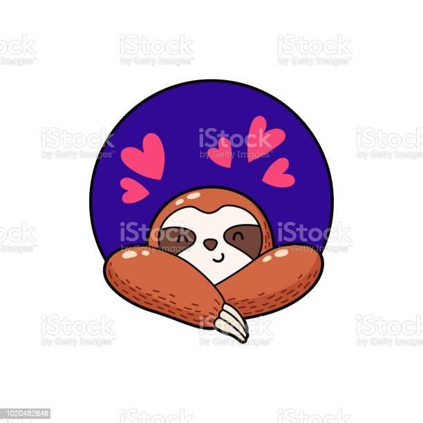 Vector illustration lovely cartoon sloth logo icon template for vector id1020452846?b=1&k=6&m=1020452846&s=612x612&h=5gxkybjsvjyybglswa5wuj6n6azzauyw j6 goaidvw=
