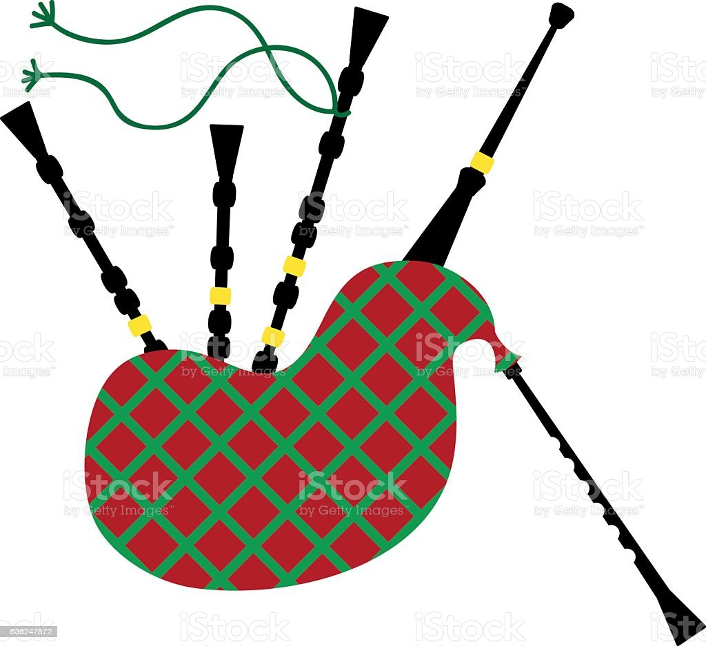royalty free bagpipe clip art vector images illustrations istock rh istockphoto com bagpipe player clipart bagpipe clipart free
