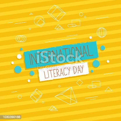 537761721 istock photo Vector illustration of a book for International Literacy Day. 1030390166