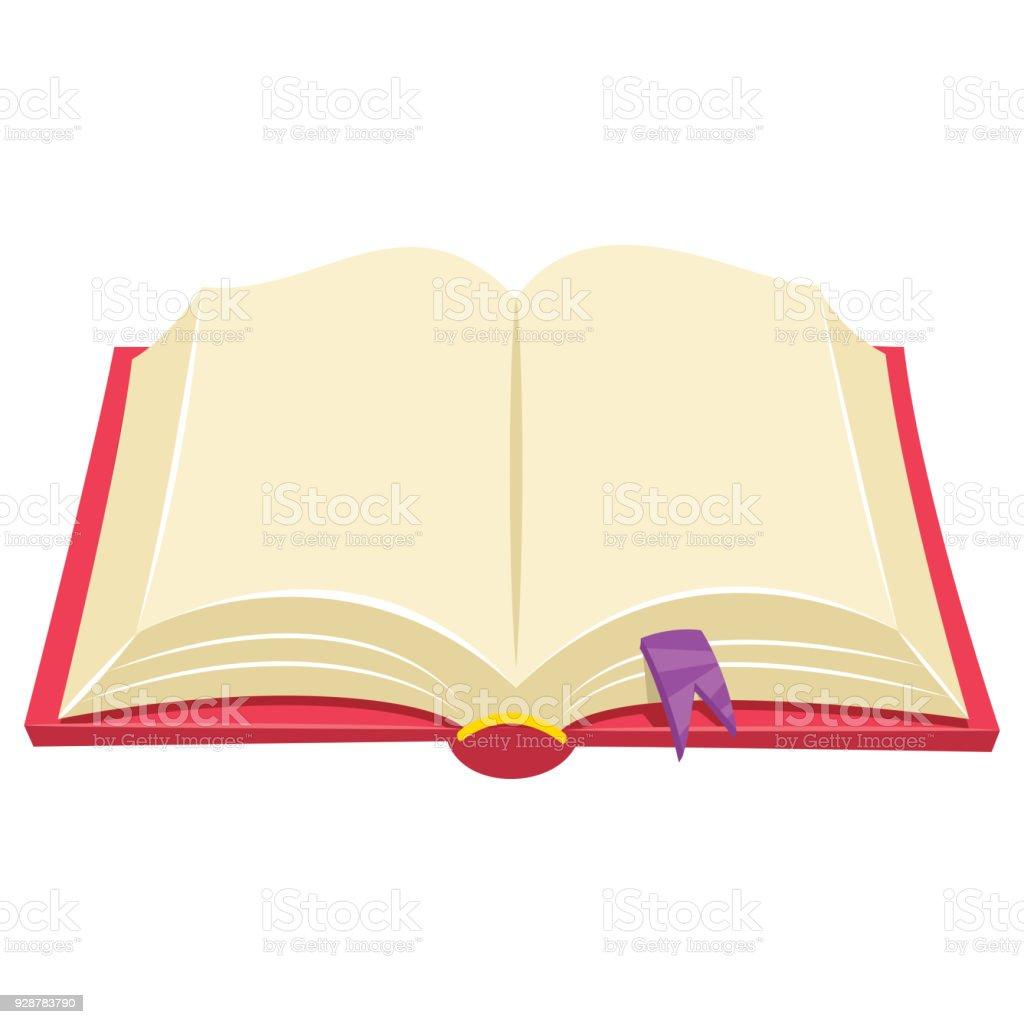 Vector Illustration Of A Book vector art illustration