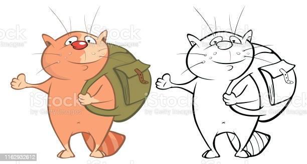 Vector illustration of a cute cartoon character cat for you design vector id1162932612?b=1&k=6&m=1162932612&s=612x612&h=6sononwmtqkjpy81ghujyaxc4xgpvvver4ndra48mxg=