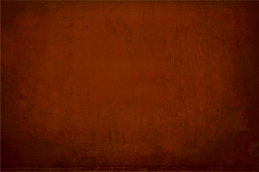 Vector Illustration of a dark brown, coke coloured spotted empty grunge textured backgrounds