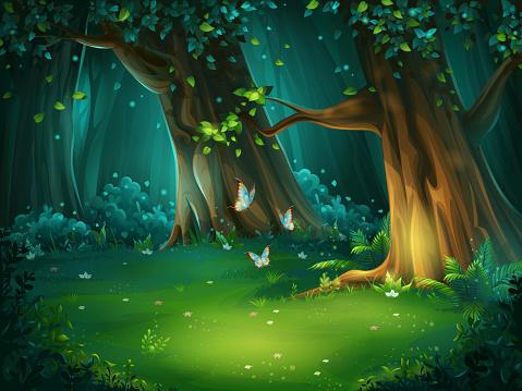 Tree stock illustrations