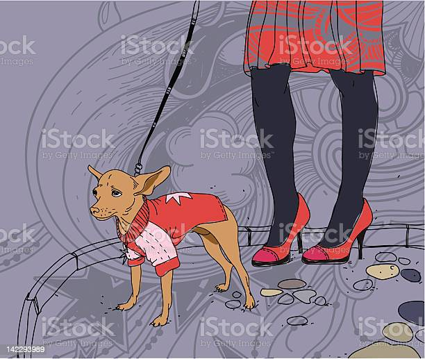 Vector illustration of a girl walking with little dog vector id142293989?b=1&k=6&m=142293989&s=612x612&h=taz mphvfmgzzqnobjxobp9xsyfdifceospkcjwkeqk=