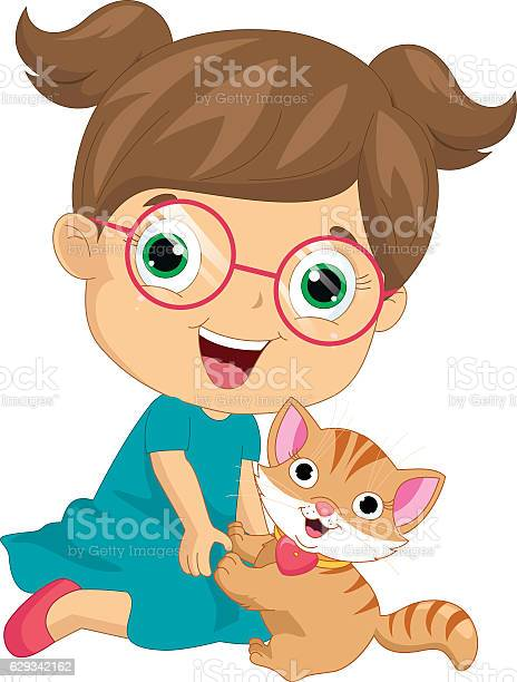 Vector illustration of a little girl playing with cat vector id629342162?b=1&k=6&m=629342162&s=612x612&h=00rvdfsvhh7  eom6wzeqlwizmztsup7ydlxbn oiiy=