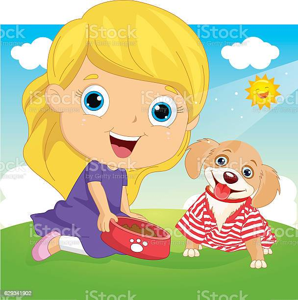 Vector illustration of a little girl playing with dog vector id629341902?b=1&k=6&m=629341902&s=612x612&h=f2ulodrkdupwet0wb wcixxov9xqs3rgf tfxr2n86s=