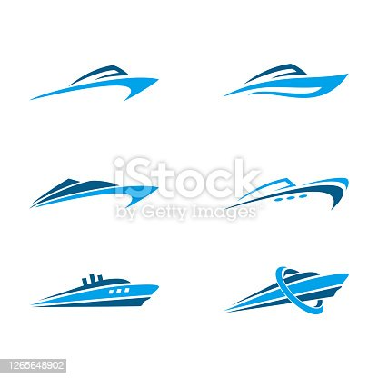 istock Vector illustration of a ship 1265648902
