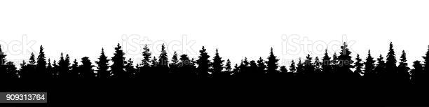 Vector illustration of a silhouette panorama of a coniferous forest vector id909313764?b=1&k=6&m=909313764&s=612x612&h=38uq7gpnsvjwflj9nfhhrrbomdxvy4y9cipifimisjg=