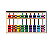 istock Vector illustration of abacus isolated on white background. School things and accessories concept. Education and school material, kids coloring page, printable, activity, worksheet, flash card. 1319337519