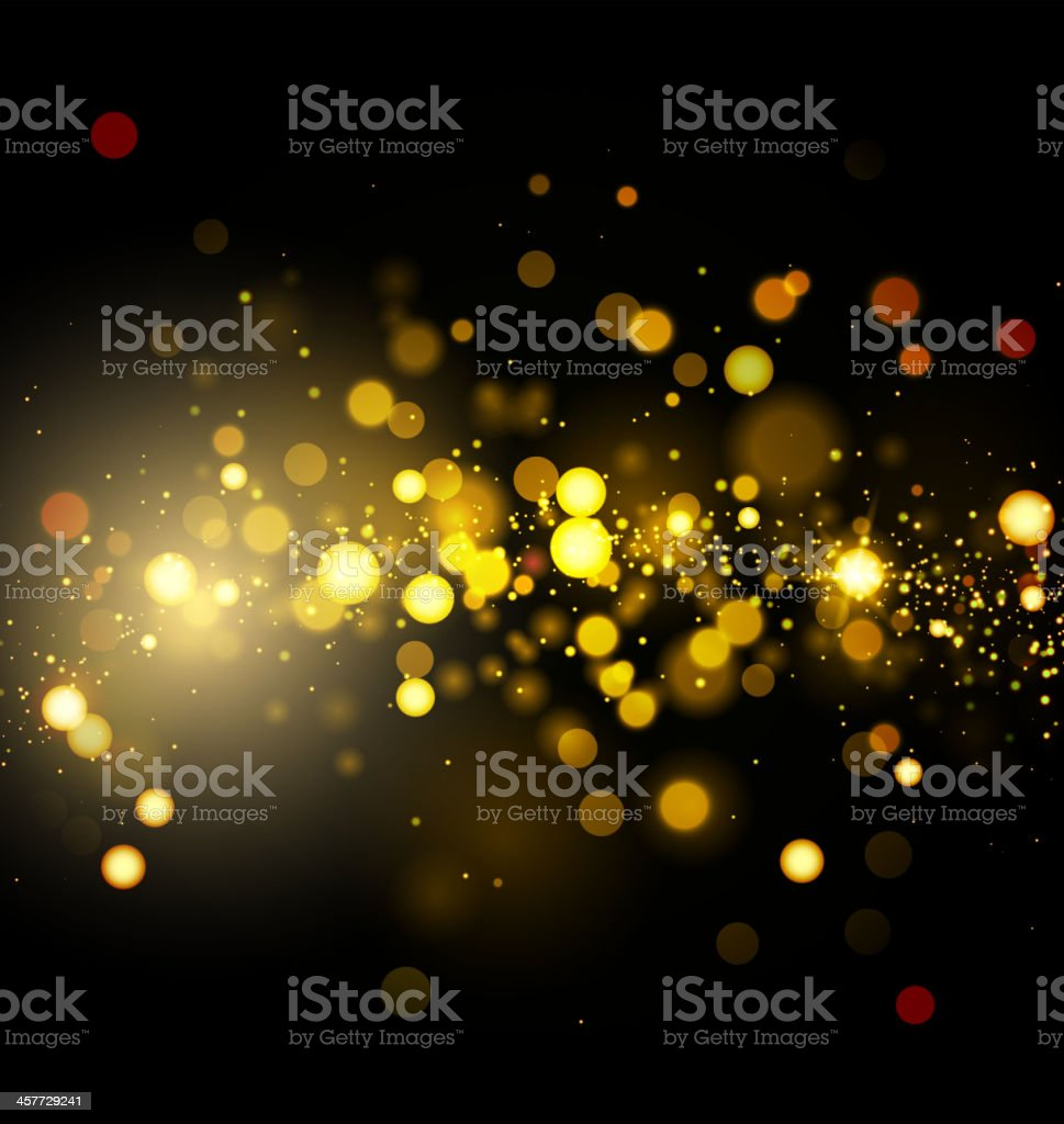 Vector illustration of abstract light background