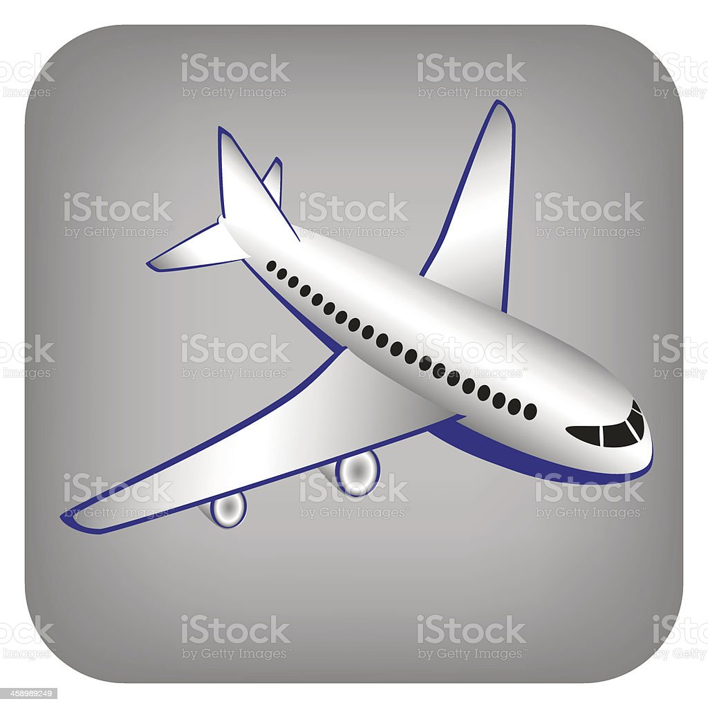 Vector illustration of airplane royalty-free vector illustration of airplane stock vector art & more images of air vehicle