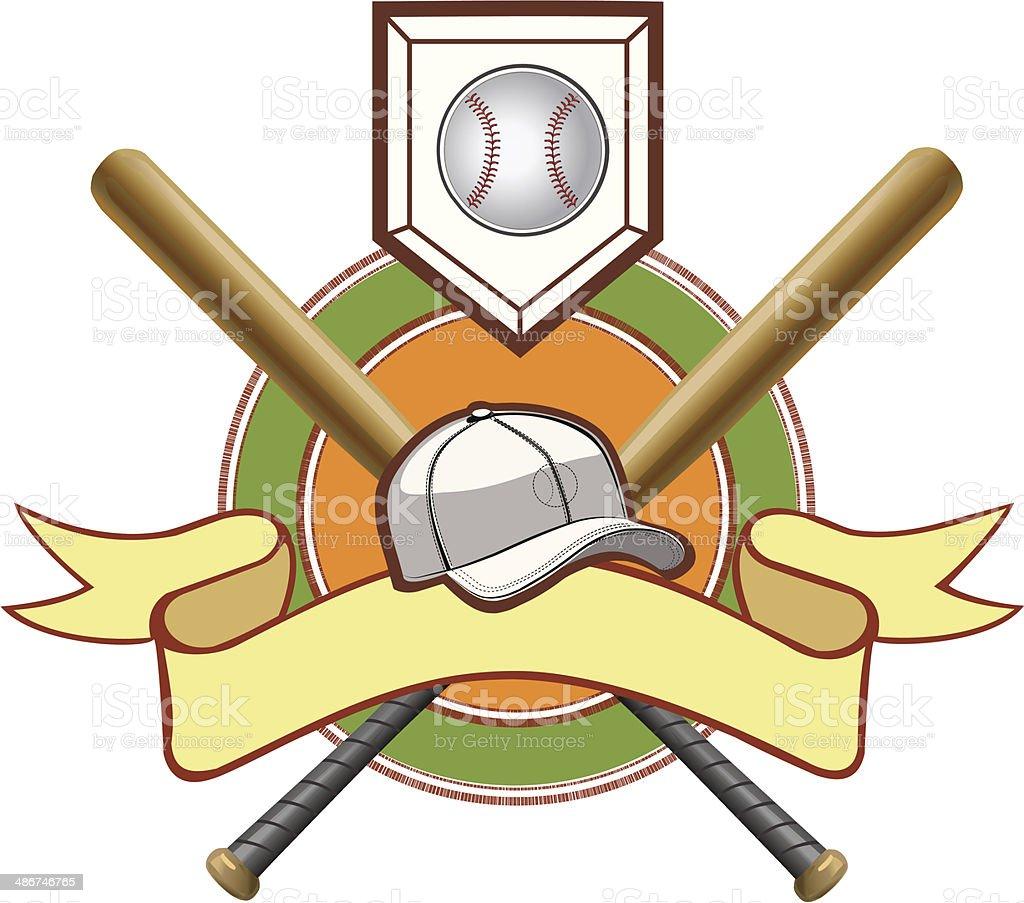 Vector illustration of baseball bat, base and ball royalty-free vector illustration of baseball bat base and ball stock vector art & more images of activity