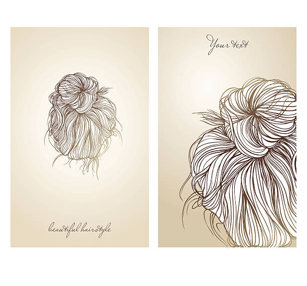 Royalty Free Hair Bun Clip Art Vector Images Illustrations Istock