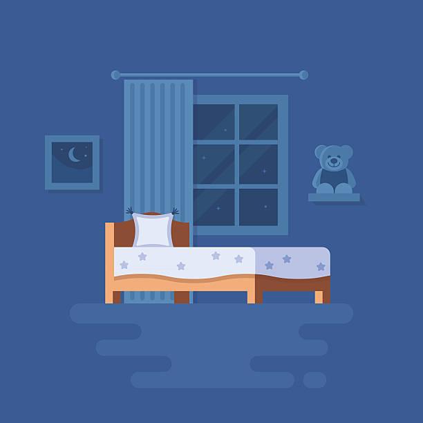 Schlafzimmer Vektorgrafiken und Illustrationen - iStock