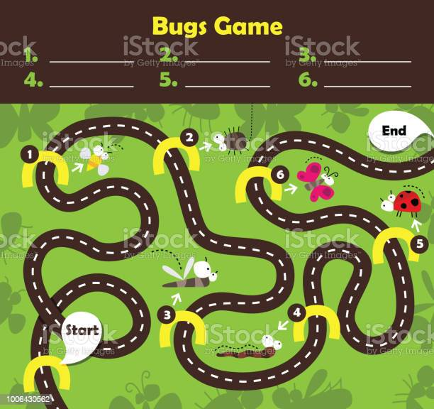 Vector illustration of board game for children vector id1006430562?b=1&k=6&m=1006430562&s=612x612&h=z1d5k2oc2jysvyqe9bvjxnfct6zvwhugf12cqd yt5a=