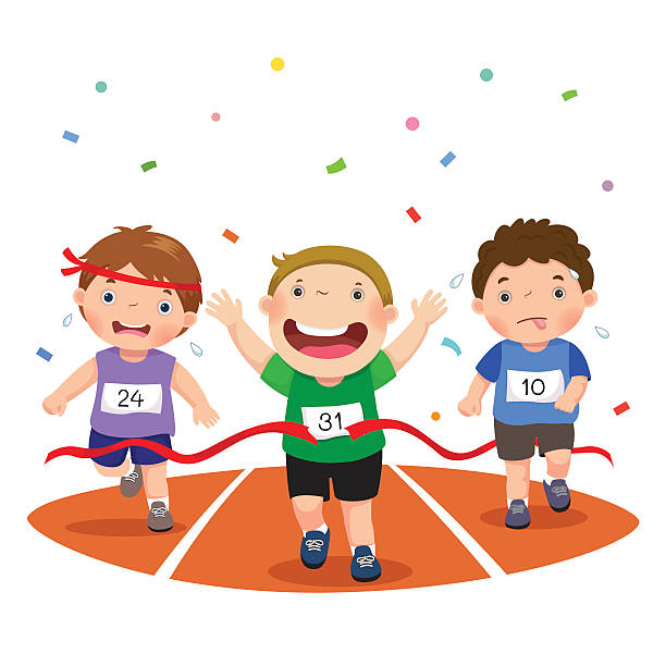 Image result for children running clipart