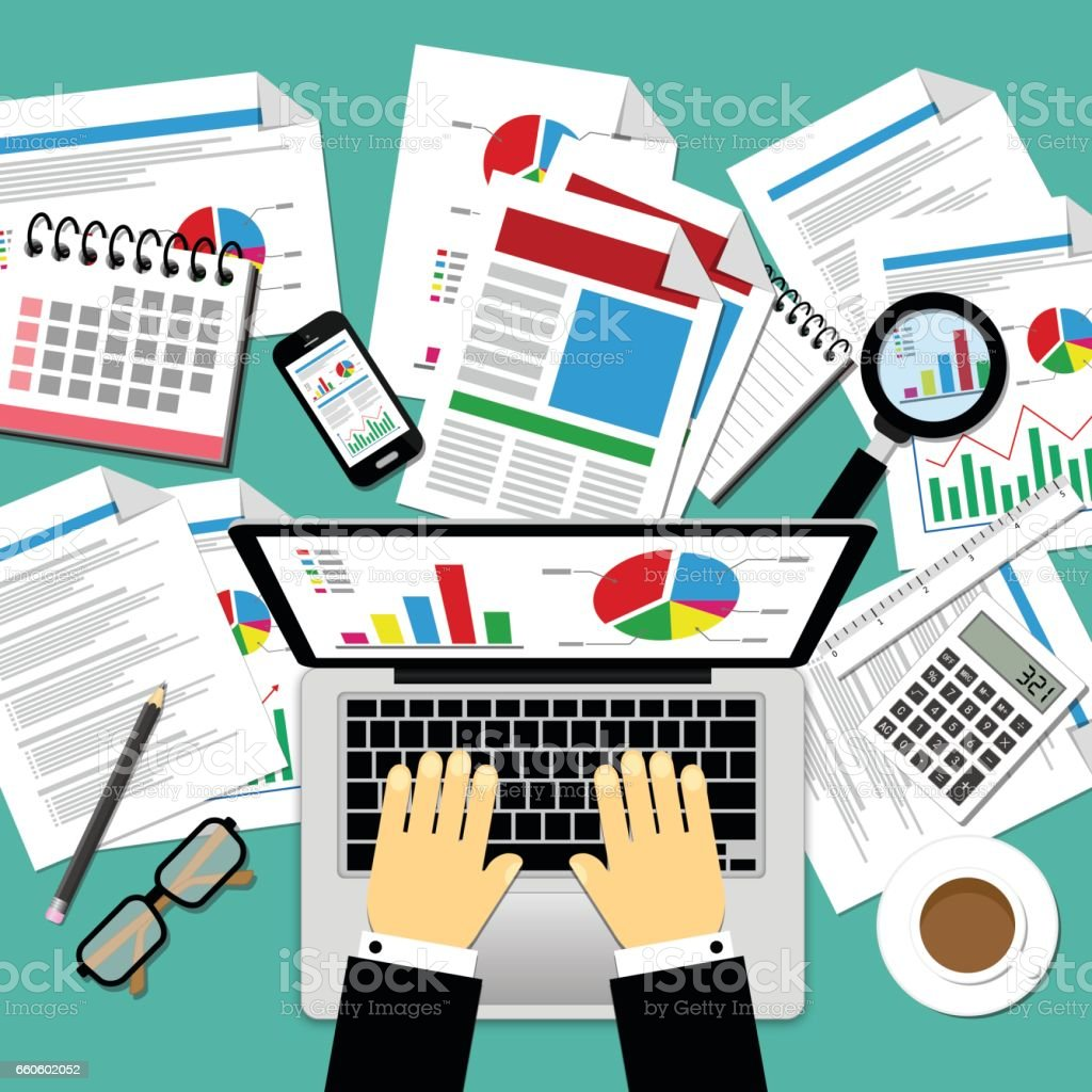 Vector Illustration of Business Concepts royalty-free vector illustration of business concepts stock vector art & more images of adult