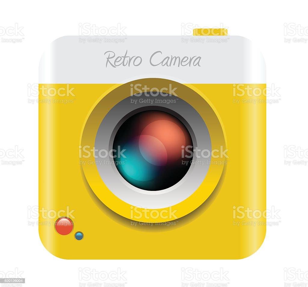 カメラアイコンのベクトルイラスト - よろい戸のベクターアート素材や