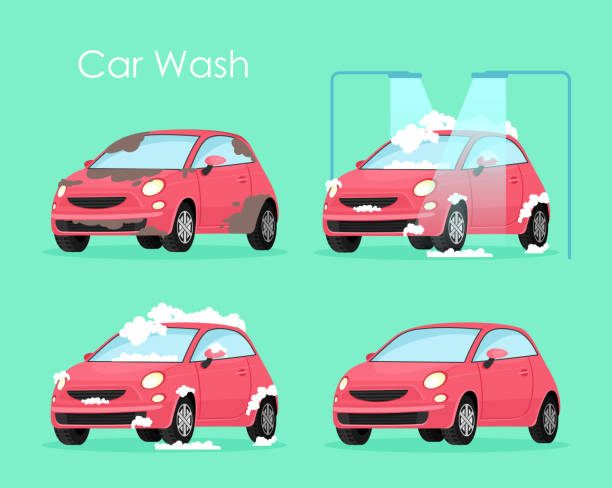 Car Wash Background Free Vector Art 61 Free Downloads
