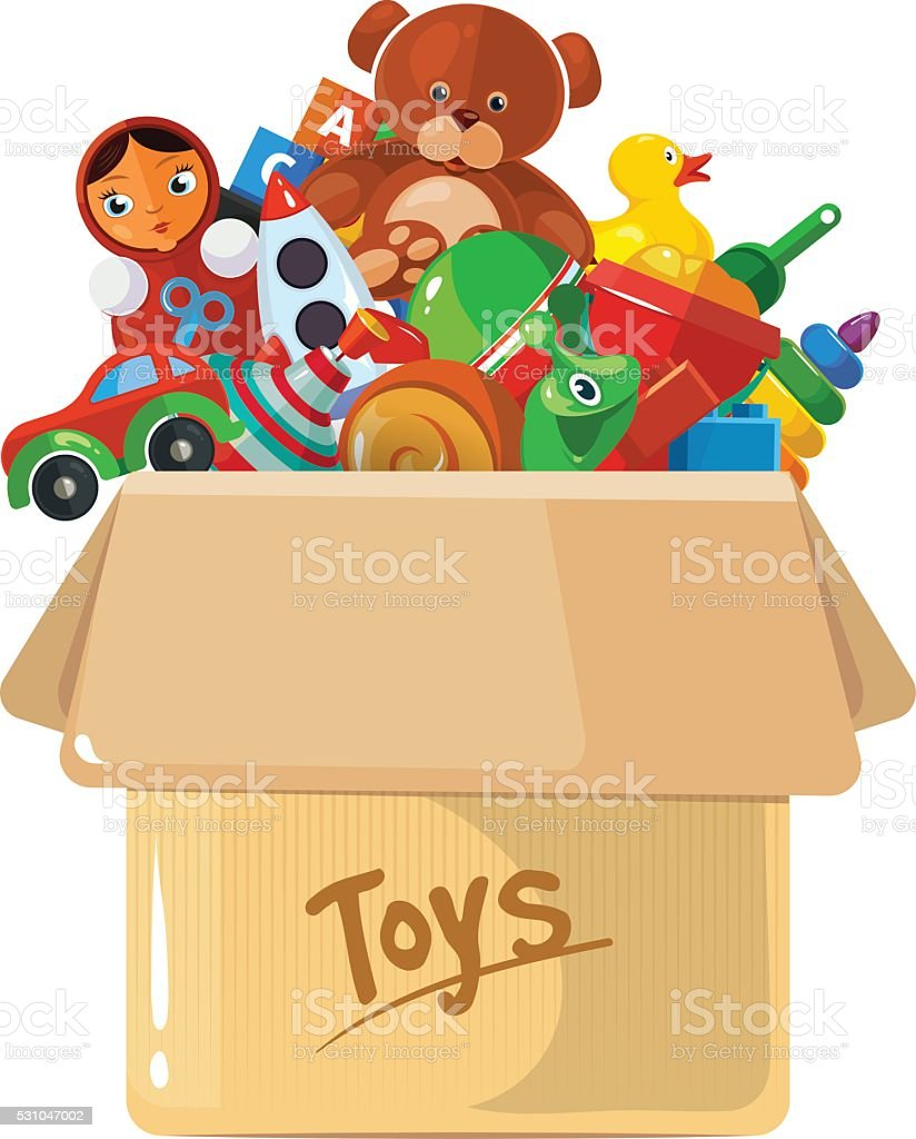 royalty free toy box clip art vector images illustrations istock rh istockphoto com empty toy box clipart empty toy box clipart