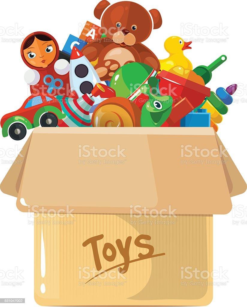 royalty free toy box clip art vector images illustrations istock rh istockphoto com