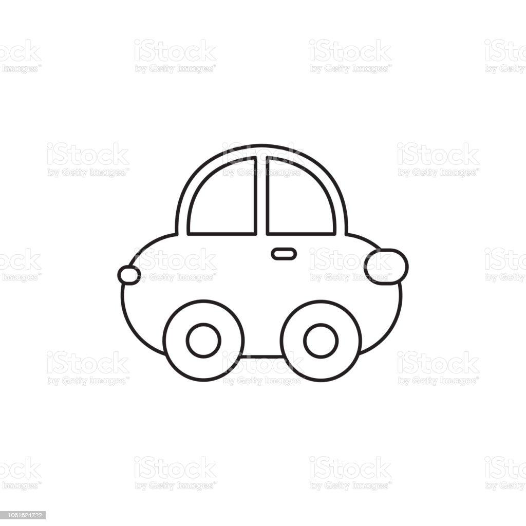 Vetores De Ilustracao Em Vetor De Carro Dos Desenhos Animados