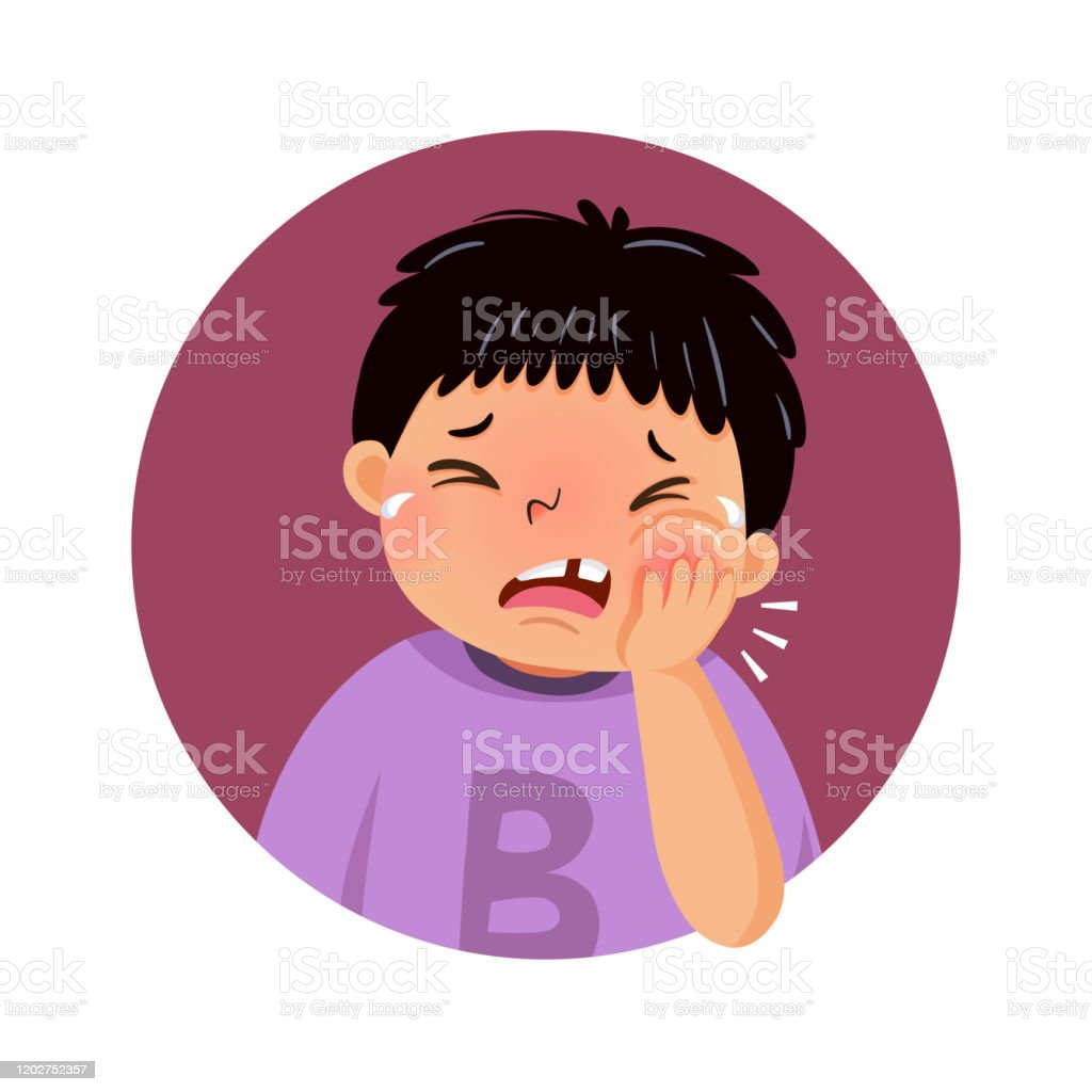 Vector Illustration Of Cartoon Fat Boy Suffering From Toothache Health Problems Concept Stock Illustration Download Image Now Istock