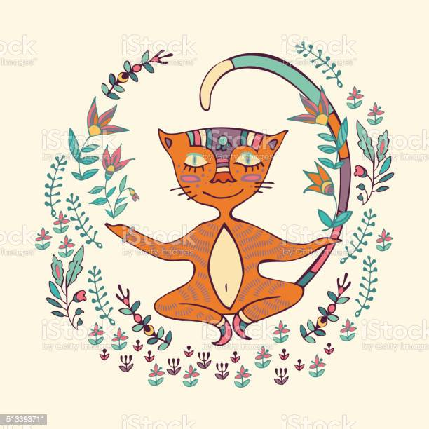 Vector illustration of cat doing yoga exercises vector id513393711?b=1&k=6&m=513393711&s=612x612&h=6enppeem5ttdbex9x6t6eandptzuyljp4ep1jzmsjco=