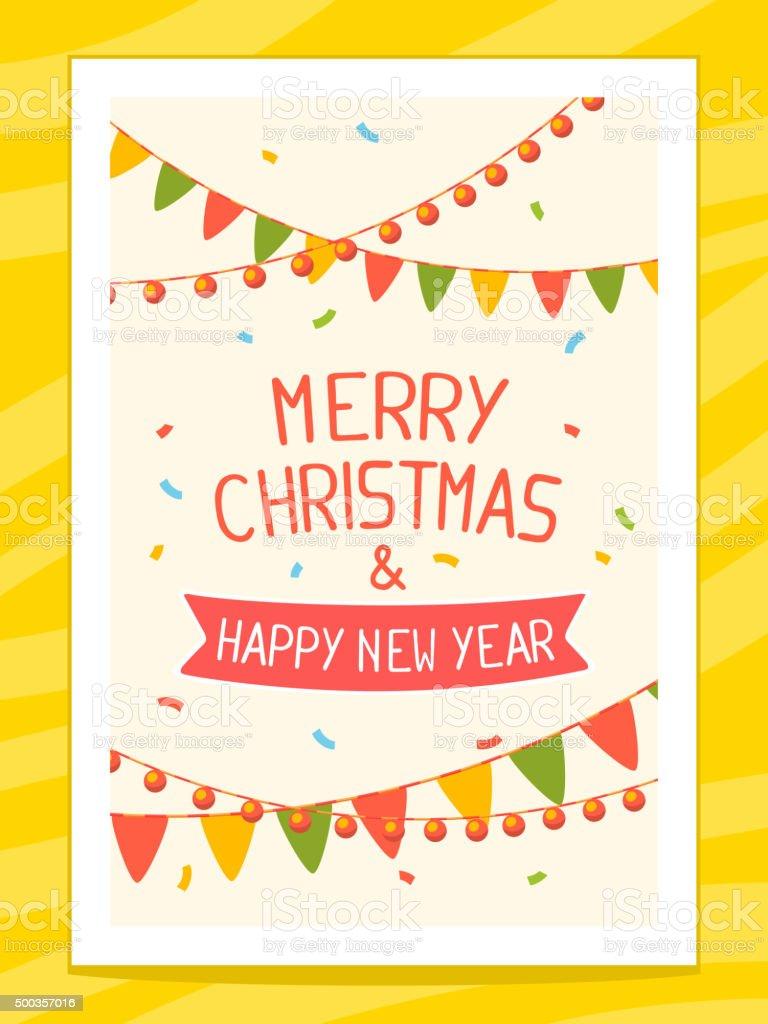 ベクトルイラストのクリスマスカードに手書き文字 15年のベクターアート素材や画像を多数ご用意 Istock
