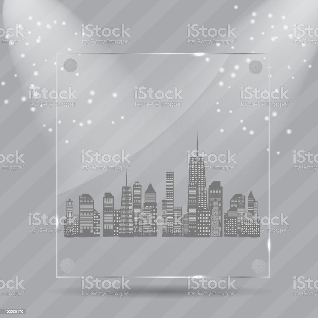 Vector illustration of cities silhouette. EPS 10. royalty-free vector illustration of cities silhouette eps 10 stock vector art & more images of abstract