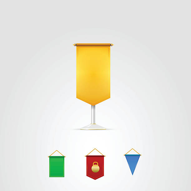 Royalty Free Hanging Banner Clip Art, Vector Images ...