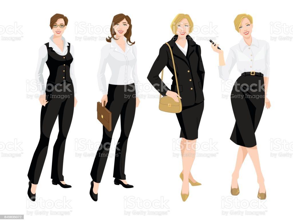 Ilustração vetorial de corporativa traje. - ilustração de arte em vetor