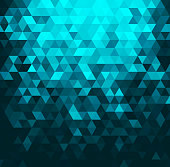 Vector illustration of crystal abstract background