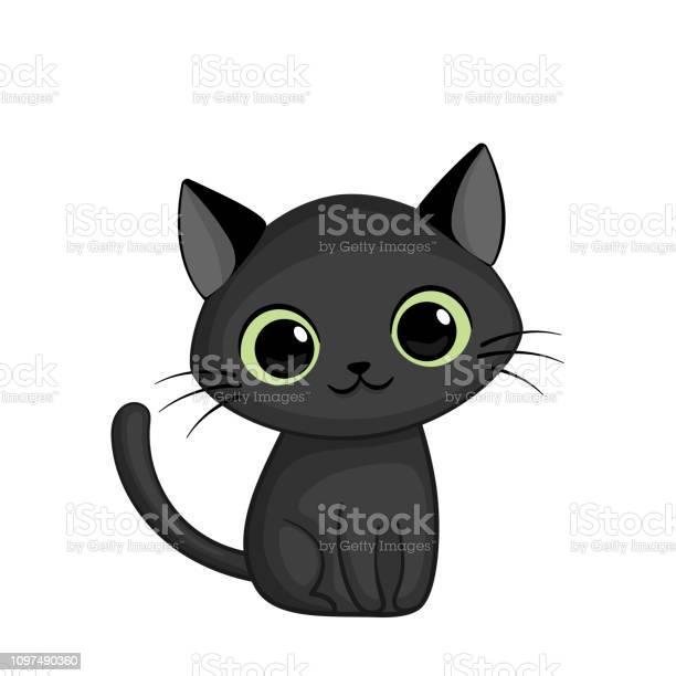 Vector illustration of cute black cat vector id1097490360?b=1&k=6&m=1097490360&s=612x612&h=vz2ta 2dc xz ylmhmjwl3t wkzessvg484fgncty3y=