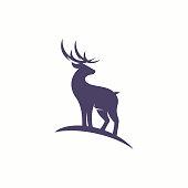 istock Vector illustration of Deer logo 1082773802