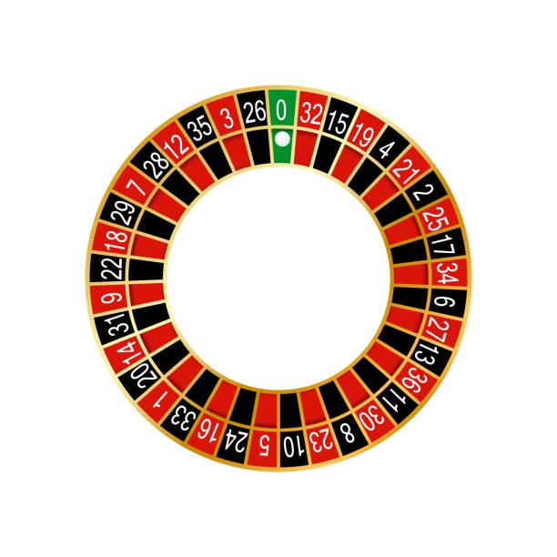 ilustrações de stock, clip art, desenhos animados e ícones de vector illustration of detailed casino roulette wheel - enjoying wealthy life