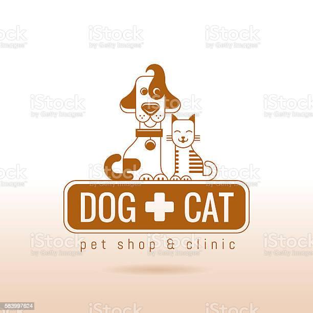 Vector illustration of dog and cat logo icon design vector id583997624?b=1&k=6&m=583997624&s=612x612&h=5ay2kstsqvm6bme4mwr17nglumdujxzdamixja1vg0a=