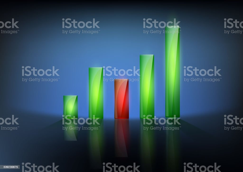 vector illustration of financial graph chart royalty-free vector illustration of financial graph chart stock vector art & more images of 2015