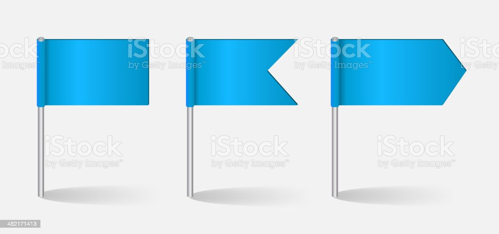 Vector illustration of flags set vector art illustration