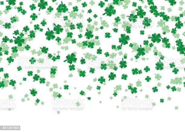 Vector illustration of floral seamless border with four leaved green vector id641257504?b=1&k=6&m=641257504&s=612x612&h=u8efsvgtsuli3kf6fgfbri6yzcs71kbvxu9lr6bdjt8=