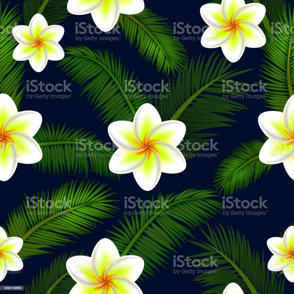 Vector Illustration of floral seamless pattern royalty-free vector illustration of floral seamless pattern stock vector art & more images of arts culture and entertainment