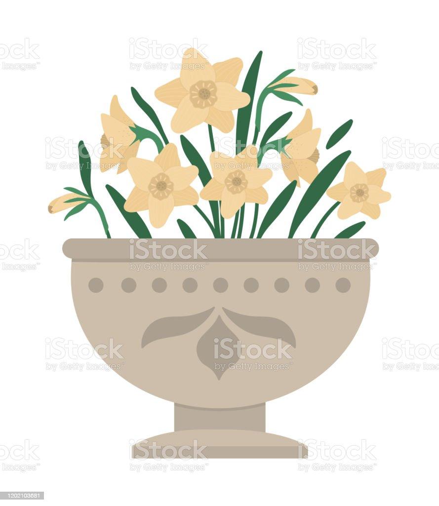 Aménagement D Un Parterre De Fleurs illustration de vecteur du lit de fleur parterre décoratif