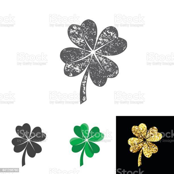 Vector illustration of four leaved clover set for saint patricks day vector id641258760?b=1&k=6&m=641258760&s=612x612&h=a3zqcmaknbyrcwswp8b9vuxm21fw5lm9fqoobtz5lku=