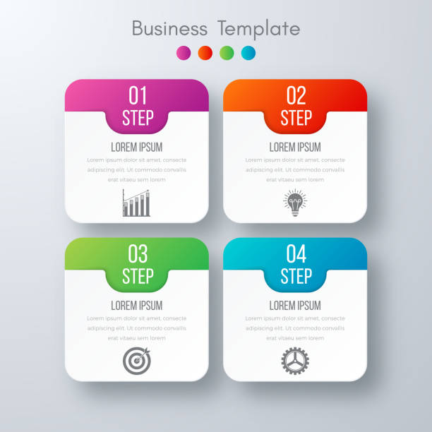 royalty free four square clip art vector images illustrations