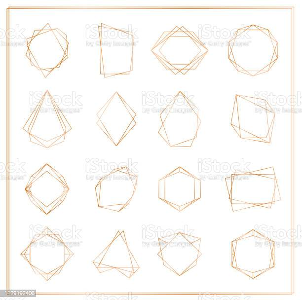 Vector illustration of gold segments frames set isolated on white vector id1129192406?b=1&k=6&m=1129192406&s=612x612&h=  swoznofvatkriteq7wgkd wmwiu2sulx0kuupsfa4=