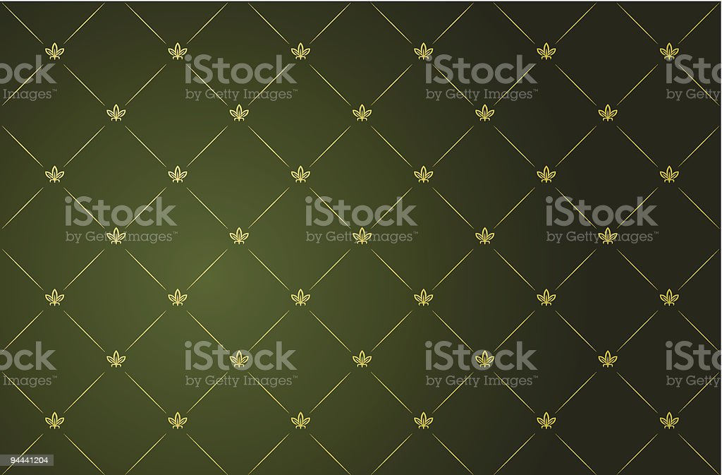 Vector illustration of green vintage frame royalty-free vector illustration of green vintage frame stock vector art & more images of abstract