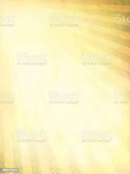 Wektorowa Ilustracja Grunge Light Sunburst - Stockowe grafiki wektorowe i więcej obrazów Tło