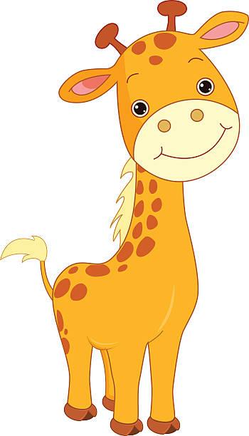 Best Baby Giraffe Illustrations, Royalty-Free Vector ...